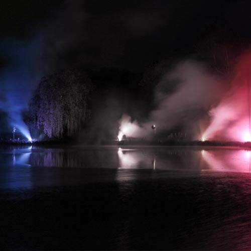 www.feux-artifice-collectivites.fr - Embrasement Bleu Blanc Rouge